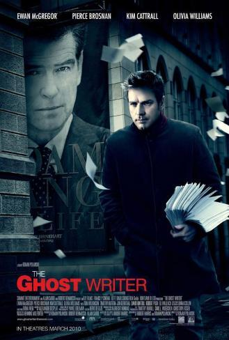 The Ghost Writer - Canadian Style Poster