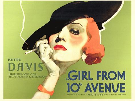The Girl From 10th Avenue, 1935 Premium Giclee Print