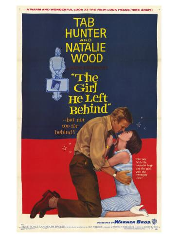 The Girl He Left Behind, 1956 Art Print