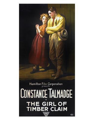 The Girl Of Timber Claim - 1917 Giclee Print