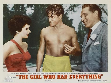 The Girl Who Had Everything, 1953 Art Print