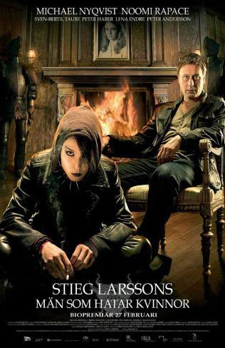 The Girl with the Dragon Tattoo マスタープリント
