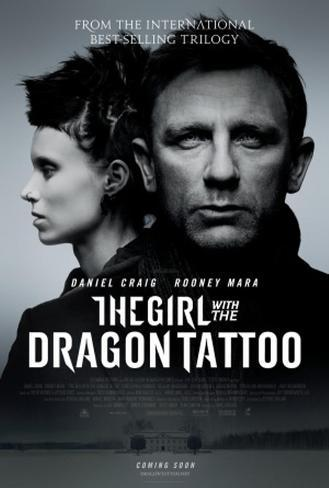 The Girl with the Dragon Tattoo Double-sided poster