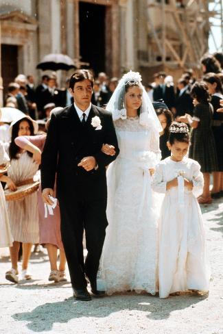 The Godfather, Al Pacino, Simonetta Stefanelli, 1972 Photo