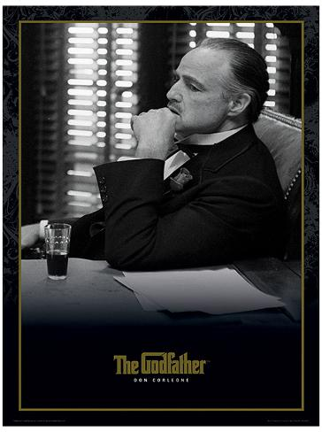 the godfather don corleone movie poster impress227o
