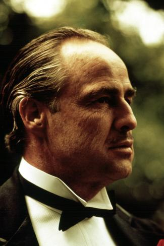 The Godfather, Marlon Brando, 1972 Fotografia