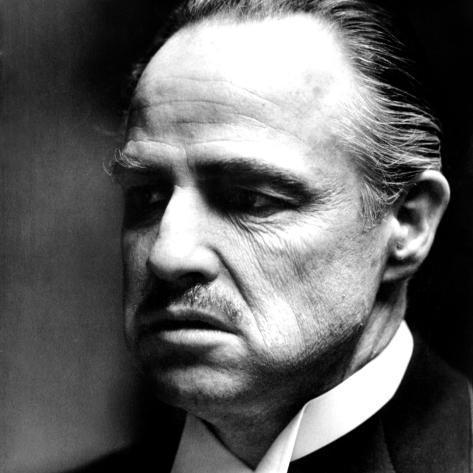 The Godfather, Marlon Brando, 1972 Photo