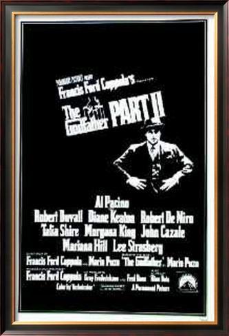 The Godfather Part 11 Framed Poster