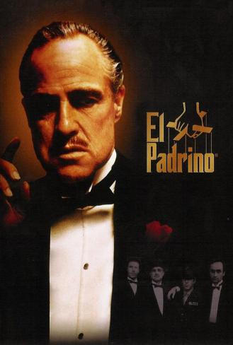 The Godfather - Spanish Style Poster
