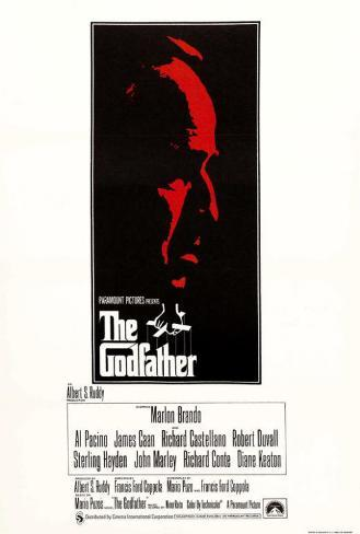 The Godfather - UK Style Poster