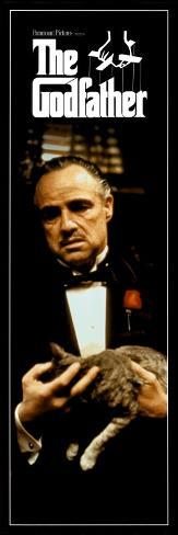 The Godfather Door Poster