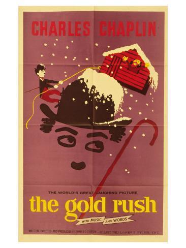 The Gold Rush, 1925 Art Print