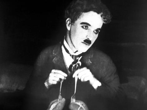The Gold Rush, Charlie Chaplin, 1925 Photo