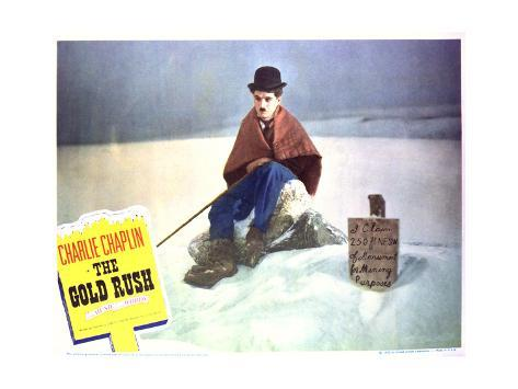 The Gold Rush - Lobby Card Reproduction Stampa artistica