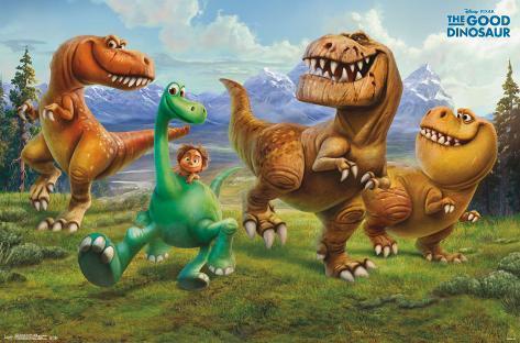 The Good Dinosaur- Group Poster