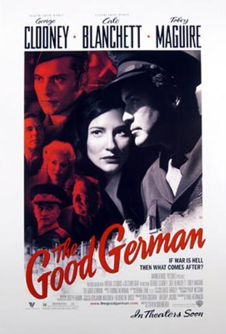 The Good German Dubbelsidig poster