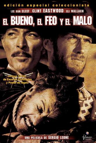 The Good, The Bad and The Ugly - Spanish Style Poster