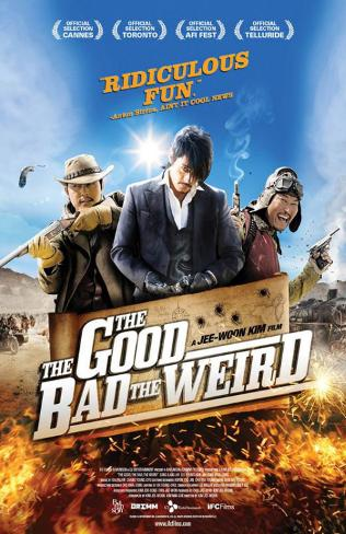 The Good, the Bad, the Weird Masterprint