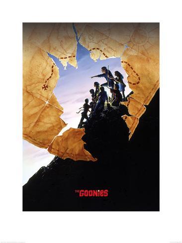 The Goonies - Clifftop Art Print