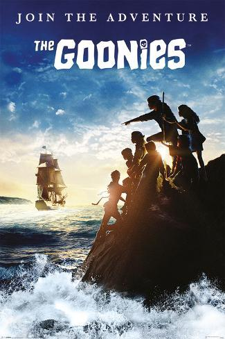 The Goonies- Join The Adventure Poster