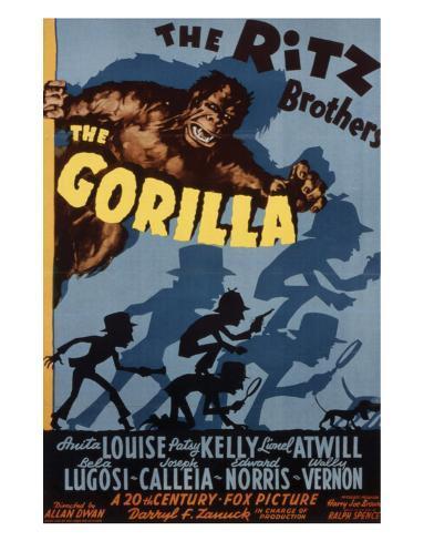 The Gorilla - 1939 Impressão giclée