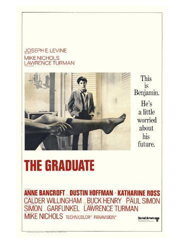 The Graduate, 1967 Art Print