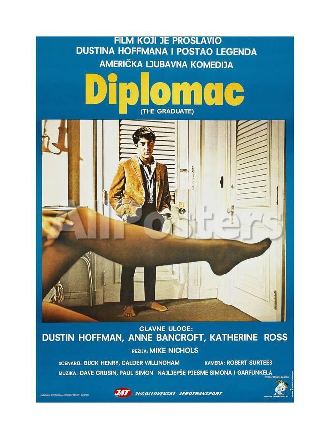 オールポスターズの the graduate aka diplomac yugoslavian poster