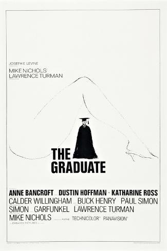 The Graduate, Dustin Hoffman, 1967 Lámina