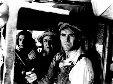 The Grapes of Wrath, Dorris Bowdon, Jane Darwell, Henry Fonda, 1940 Photo
