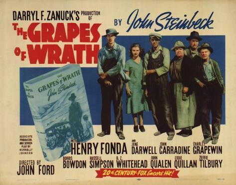 The Grapes of Wrath Masterprint