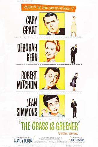 The Grass Is Greener Konstprint