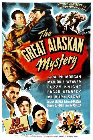 The Great Alaskan Mystery Art Print