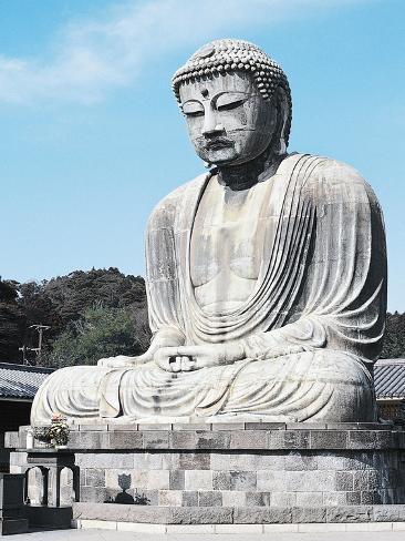 The Great Buddha of Kamakura Giclee Print