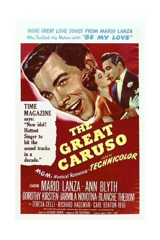 The Great Caruso Art Print