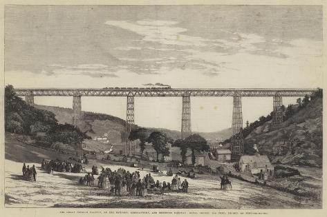 The Great Crumlin Viaduct Giclee Print