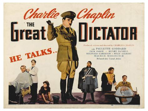 The Great Dictator, 1972 Stretched Canvas Print