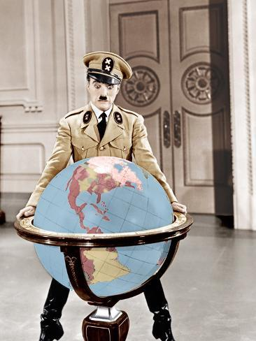 The Great Dictator, Charles Chaplin, 1940 Foto