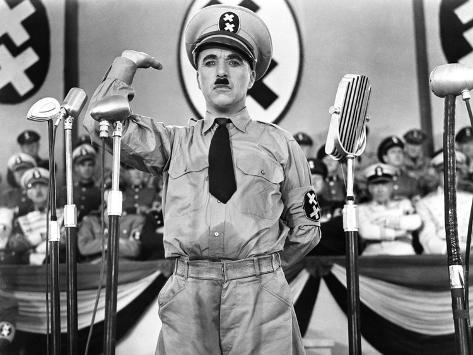 The Great Dictator, Charlie Chaplin, 1940 Photo