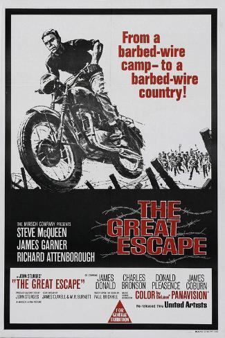 The Great Escape, 1963, Directed by John Sturges Giclee Print