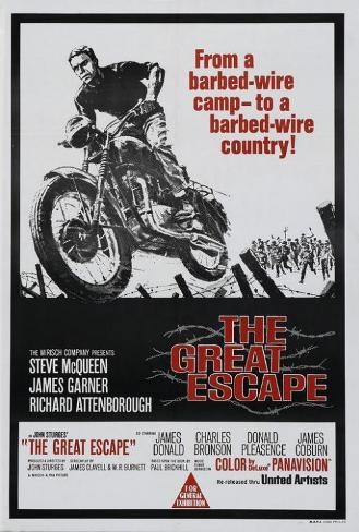 The Great Escape - Australian Style Poster