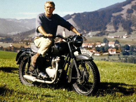 The Great Escape, Steve Mcqueen, 1963 Photo