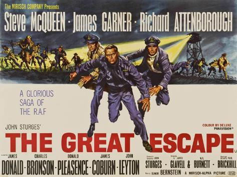 Image result for the great escape poster
