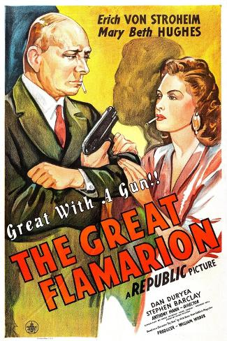The Great Flamarion Art Print