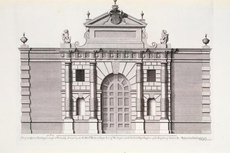 The Great Gate at Burlington House Giclee Print