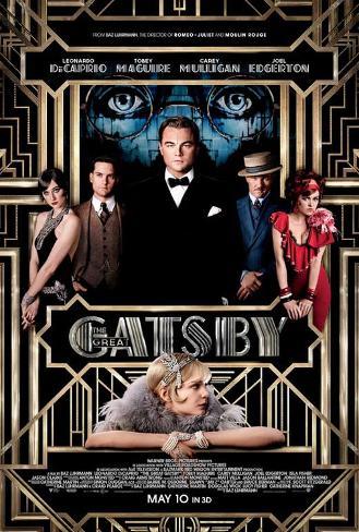 The Great Gatsby (Leonardo DiCaprio, Carey Mulligan, Tobey Maguire) Movie Poster Masterprint