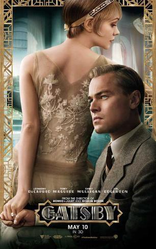 The Great Gatsby (Leonardo DiCaprio, Carey Mulligan, Tobey Maguire) Póster