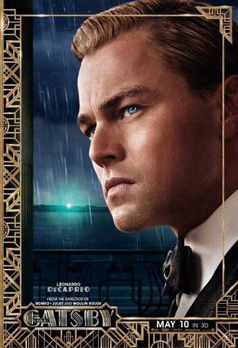 The Great Gatsby, Leonardo DiCaprio, Movie Poster Masterprint