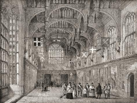The Great Hall Giclee Print