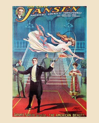 The Great Jansen, 1911 Art Print