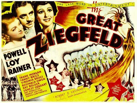 The Great Ziegfeld, 1936 Fotografía
